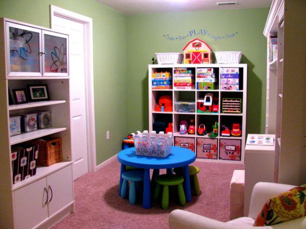 35 Colorful Playroom Design Ideas