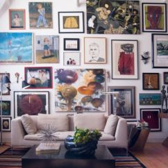 Living Room Art Wall Average Rug Size Tips And Ideas For Creating A Beautiful Gallery