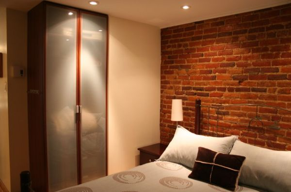 A Brick Wall Always A Charming Dcor Feature In Any Room