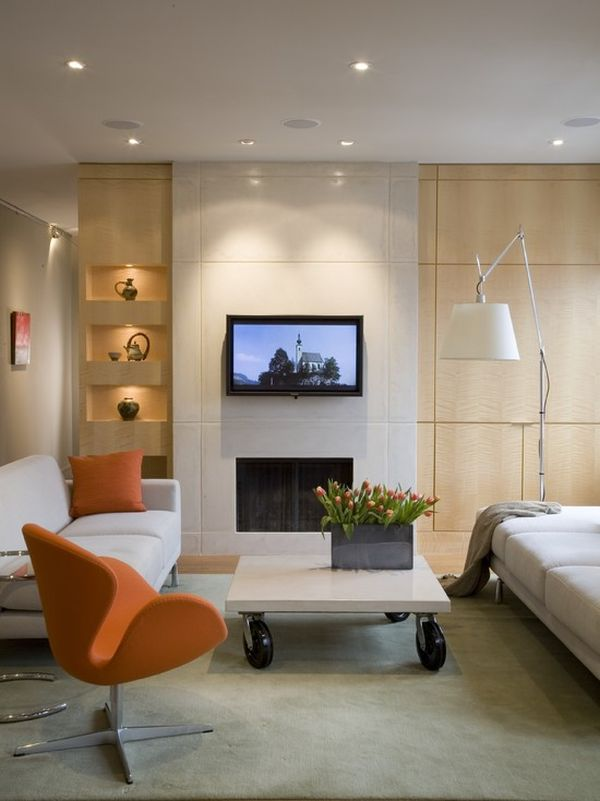 Contemporary Shelving Options For Trendy Living Rooms