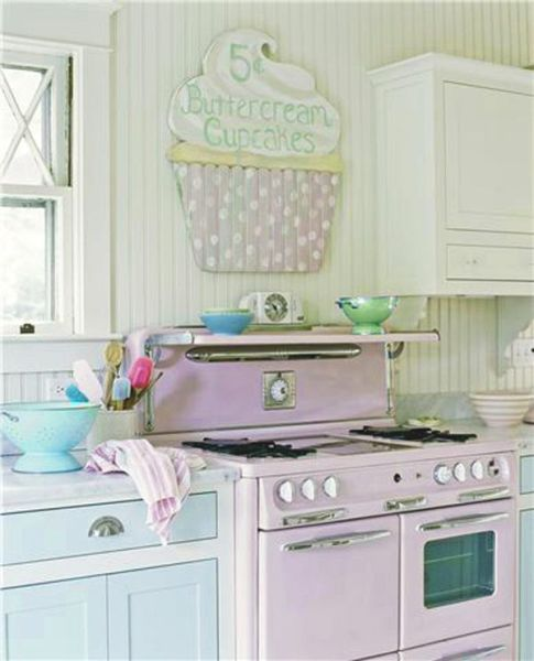 pastel kitchen Sweet like Candy: Add A Pop of Pastel to Your Kitchen