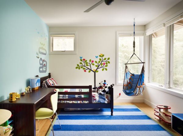 hanging chair in room cheap living 15 playful versatile and comfy chairs view gallery kids love