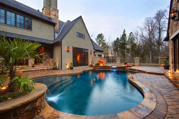 backyard pool design ideas for a hot summer - Backyard Pool Design Ideas