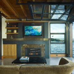 Garage Door Living Room Best Artwork For Sectional Glass Doors Used In Modern Designs View Gallery An Eclectic With Adjacent Outdoor Spaces