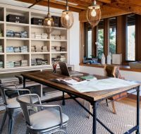 Industrial Home Office Designs For A Simple And ...