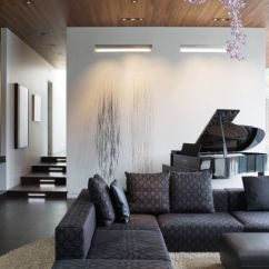 Lighting For Living Rooms Room Arm Chairs Wall Ideas Suited To Modern View In Gallery If Your