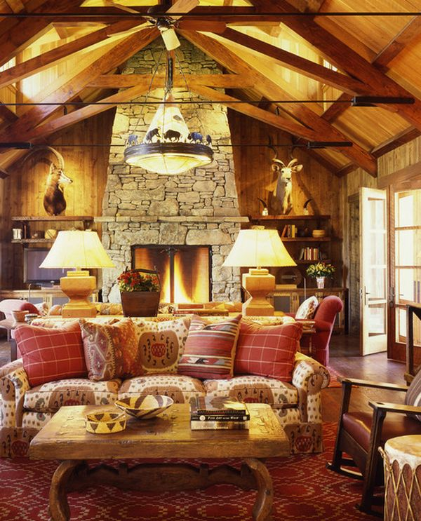 cabin living room decorating ideas shelves fever how to achieve the look for cozy trendy decor what colors cabins