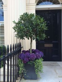 35 Front Door Flower Pots For A Good First Impression