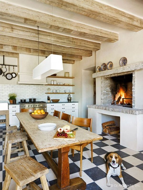 Rustic charm and natural beauty in a farmhouse from the