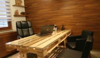 19 DIY pallet desks  a nice way to save money and to ...