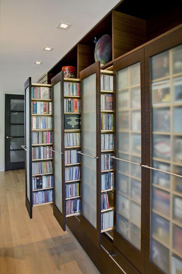 Unique Stylish Dvd Storage Ideas