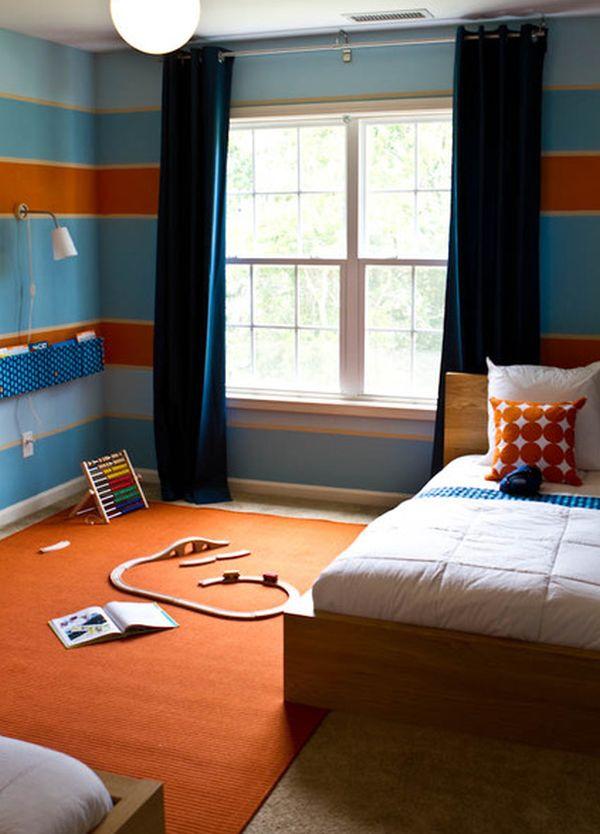 Colour Scheme Orange and Blue