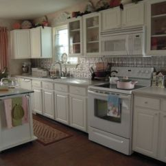 White Appliances Kitchen Single Handle Faucets Stylish Kitchens With They Do Exist View In Gallery Cupboards