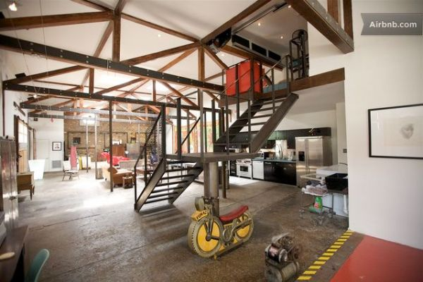 100Year Old Gas Station Converted Into A Modern Home In