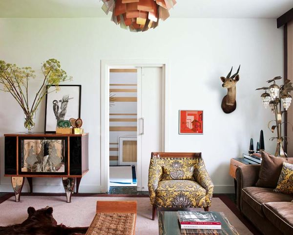 Vintage Madrid Villa With Influences From The 50s And 60s