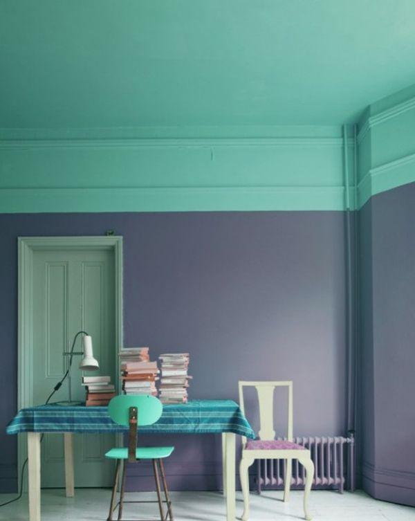 TwoToned Walls That Work Colorblocking Inspiration