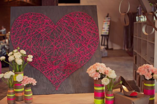 String Art Flower Cards Materials