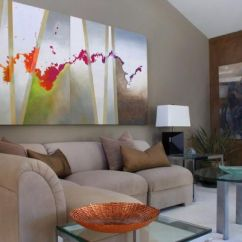 Nice Art For Living Room Purple Furniture How To Use Abstract Wall In Your Home Without Making It Look Out Of Place