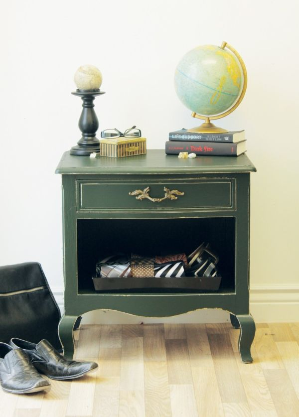 Uber Masculine Ways to Style the Nightstand