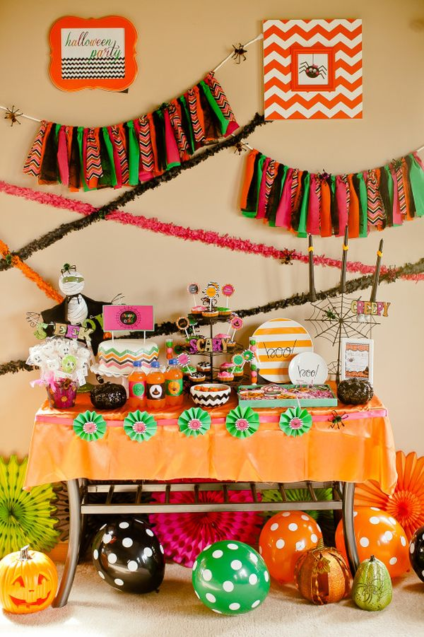 If you're planning any kind of party, decorations are one of the first things to consider. Party Themed Decor Ideas For Halloween