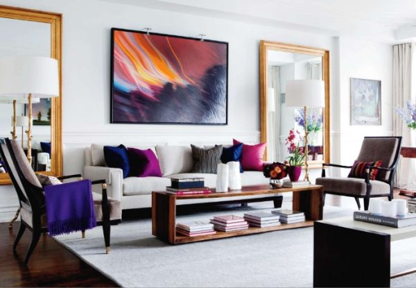artwork for living room walls sofa designs how to use abstract wall art in your home without making it look out view gallery