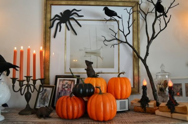8 Small  Simple Halloween Dcor Ideas that Make a Big