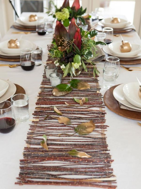 Decorate Thanksgiving Dinner Party