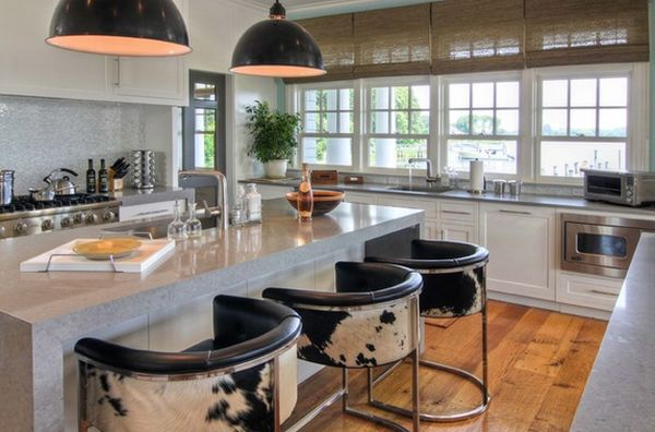 kitchen bar stools cabinets organizers 60 great stool ideas how to pick the perfect design modern