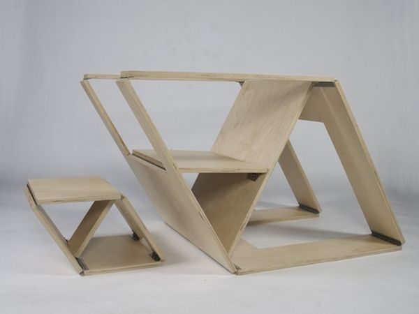10 Folding Furniture Designs  Great SpaceSavers And