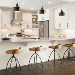 Industrial Kitchen Stools Aid Silver 60 Great Bar Stool Ideas How To Pick The Perfect Design View In Gallery