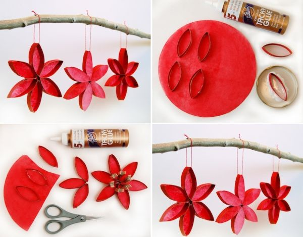 Christmas Crafts For Kids How To Make Your Own Tree Chain Garland From Crepe