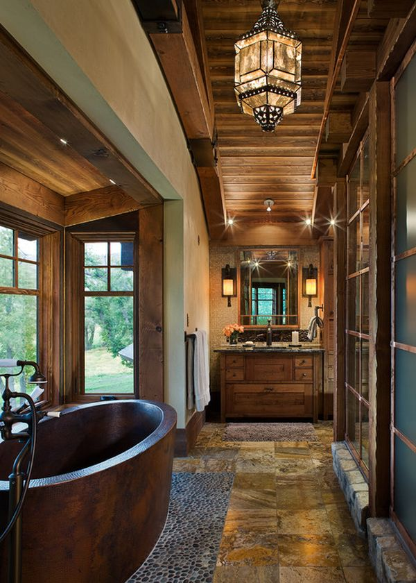 15 Copper Bathtubs  Create A Warm Glow Focal Point In The