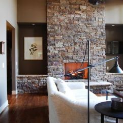 Living Room Decorating Ideas With Stone Fireplace Black Leather Couch Decor 100 Design For A Warm Home During Winter Fireplaces