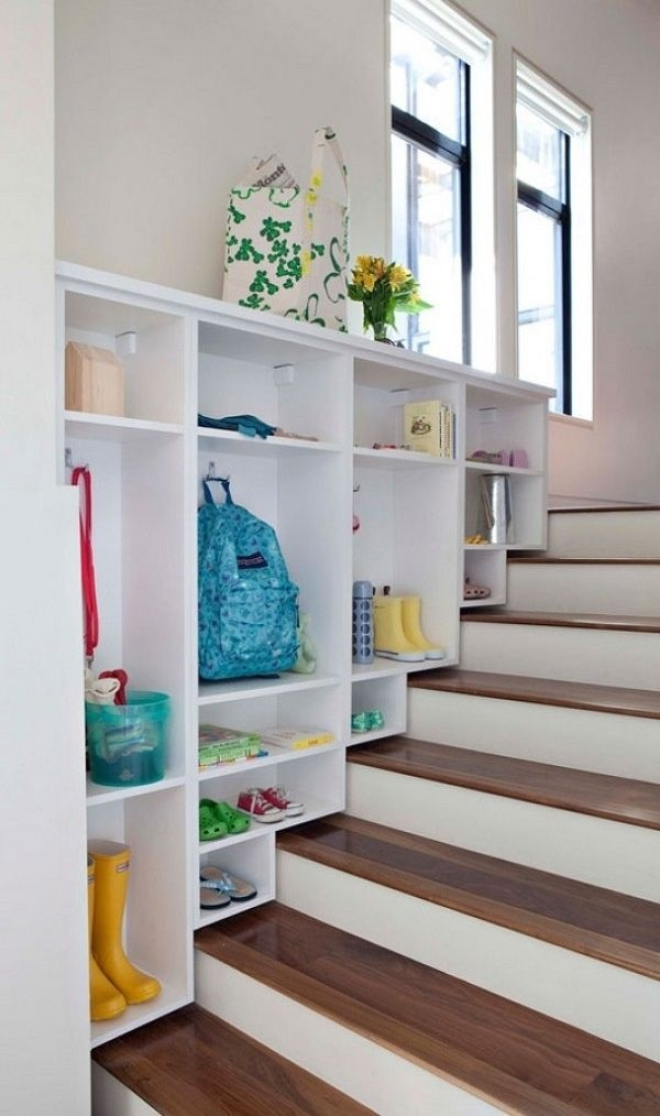 Split Level Homes Ideas And Inspiration | Split Level Entry Stairs | Wood | Half Wall | Stairwell | Raised Bungalow | Interior