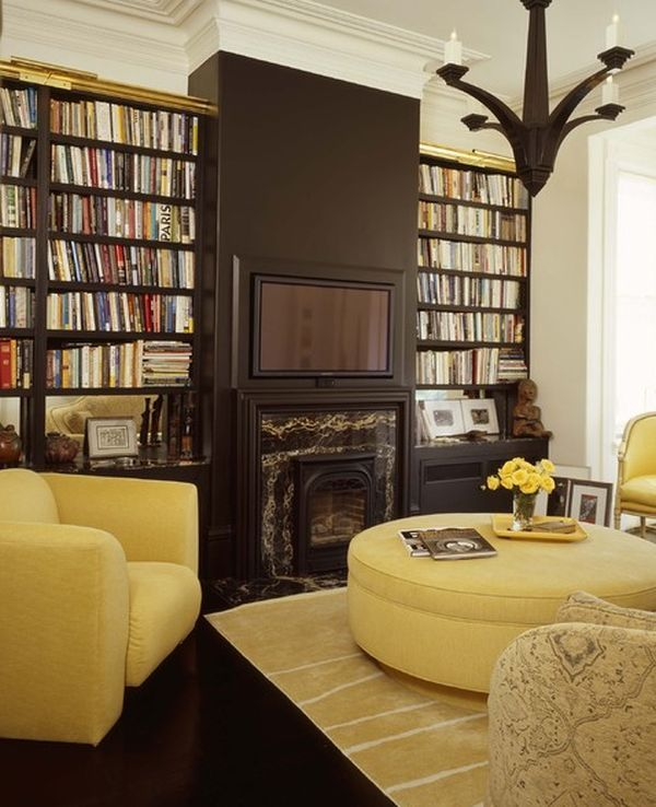 country living rooms with gray walls picture collage ideas for room wall mustard and chocolate-covered rooms: & inspiration