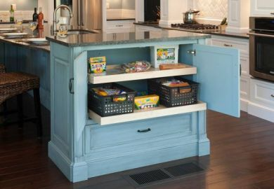 Two Tier Kitchen Island Table