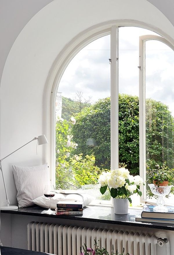 Decorating Arched Windows