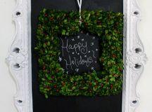15 Creative Chalkboard Christmas Craft Ideas