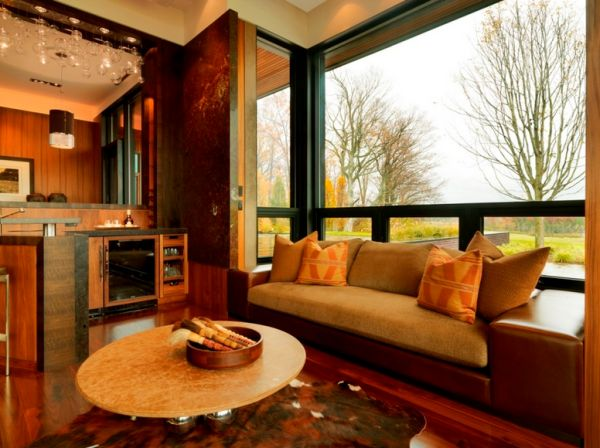 how to decorate large living room windows cozy decorating ideas for rooms and around them