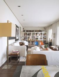 Narrow 5th Floor Apartment Filled With Personal Touches Of ...