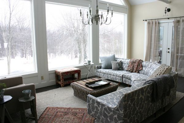 how to decorate large living room windows french country paint colors for and around them view in gallery