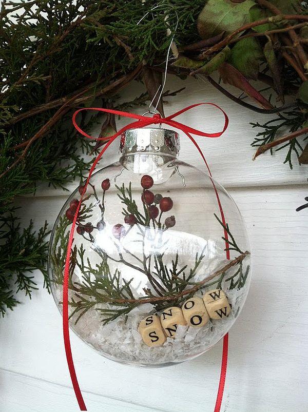 Making Glass Christmas Ornaments
