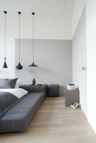 industrial grey bedroom 50 Shades of Grey: The New Neutral Foundation for Interiors