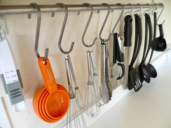 kitchen countertop storage metal carts essential space saving tips for the