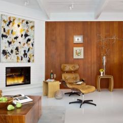 Wood Wall Living Room How To Divide Into Bedroom Choose Accent Walls For A Warm And Eye Catching Decor View In Gallery