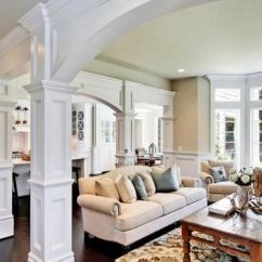 Living Room Decorating Ideas In Nigeria Rustic Contemporary Columns: Inside And Outside The House