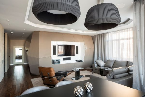 Dominion  A Futuristic Moscow Apartment With Custom