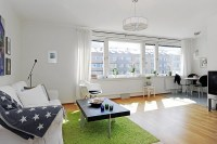 10 Small One Room Apartments Featuring A Scandinavian Dcor