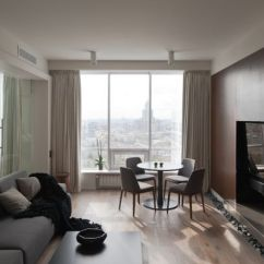 Contemporary Wall Cabinets Living Room Pictures For Rooms What Is In Style An Ultra Modern Moscow Apartment With A Glass Between ...