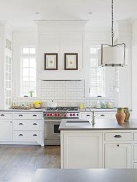 Chic White Kitchens For 2014